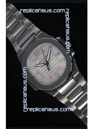 Patek Philippe Ladies Nautilus Stainless Steel Watch 36MM