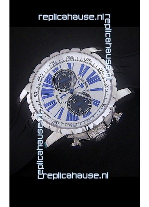 Roger Dubius Excalibur Chronograph Swiss Watch