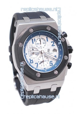Audemars Piguet Royal Oak Offshore Japanese Replica Watch in Off White Dial