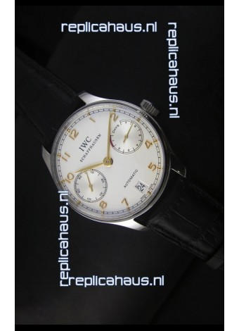 IWC Portugieser IW500704 Swiss Automatic Watch in White Dial - Updated 1:1 Mirror Replica