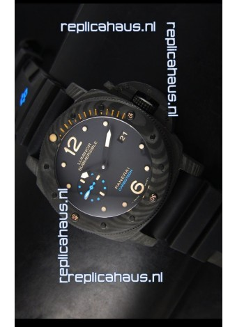 Panerai Luminor 1950 Submersible PAM616 Carbotech Swiss 1:1 Mirror Replica Watch