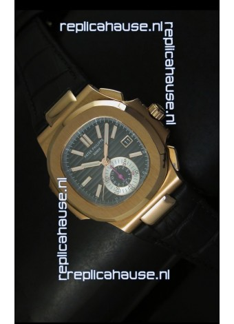 Patek Philippe Nautilus 5980 Brown Dial - 1:1 Ultimate Mirror Replica