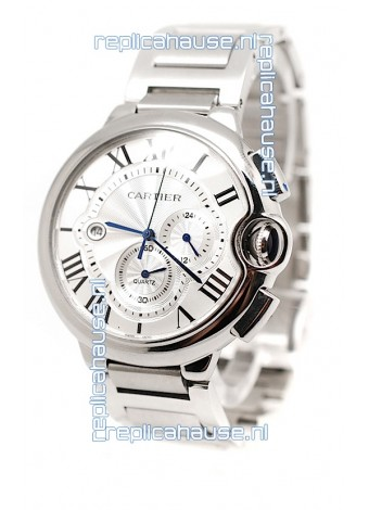 Ballon De Cartier Chronograph Swiss Replica Watch