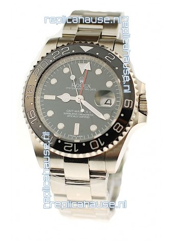 Rolex GMT Masters II Swiss Replica Watch in Ceramic Bezel