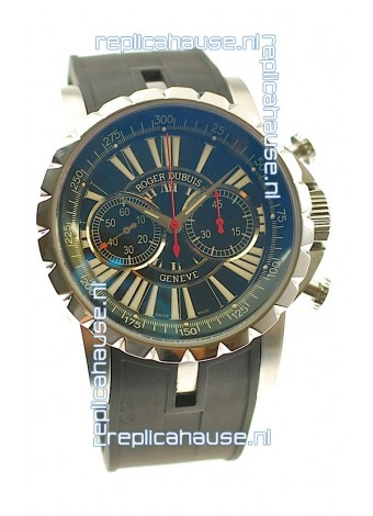 Roger Dubuis Excalibur Swiss Replica Watch with 3M Changing Color Crystal