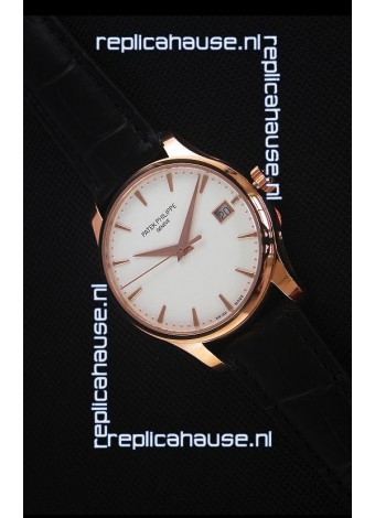 Patek Philippe #Ref 5227 Yellow Gold Watch in White Dial 1:1 Swiss Replica Watch