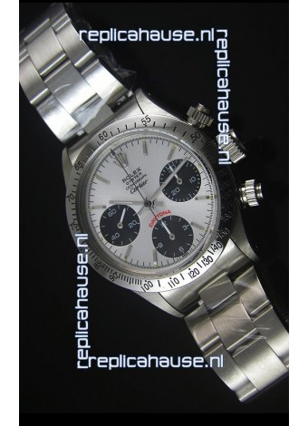 Rolex Daytona Vintage 6263 for CARTIER Edition Swiss Replica Watch with Steel Bezel