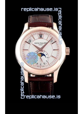 Patek Philippe 5205R-001 Complications MoonPhase 1:1 Mirror Swiss Replica Watch