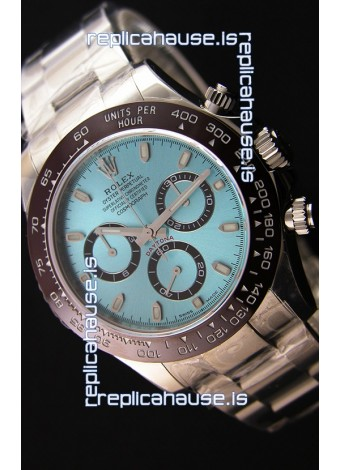 Rolex Cosmograph Daytona 116506 ICE BLUE Dial Original Cal.4130 Movement - Ultimate 904L Steel Watch