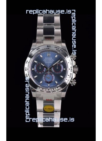 Rolex Daytona 116508 White Gold Original Cal.4130 Movement - 1:1 Mirror 904L Steel Watch