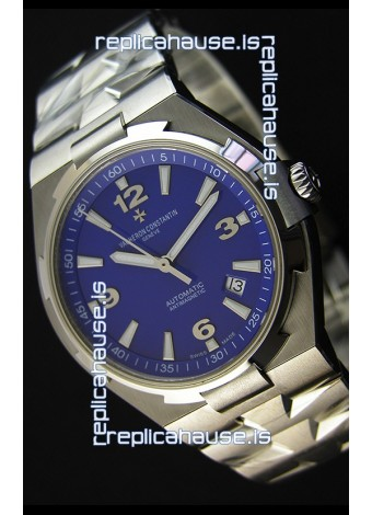 Vacheron Constantin Overseas Blue Dial Swiss Replica Watch