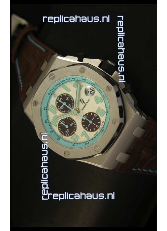 Audemars Piguet Royal Oak Offshore Montauk Highway Edition 1 1 Mirror  Replica 26743bb589b