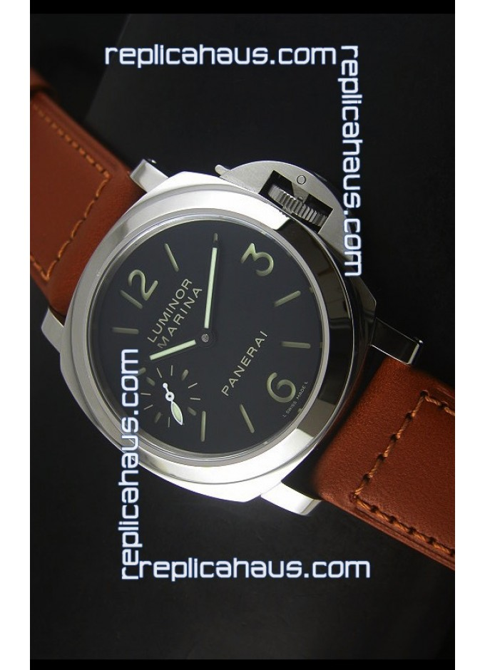 53dcbaec0ee Panerai Luminor Marina PAM111h Ultimate Swiss Replica Watch 2016 Version