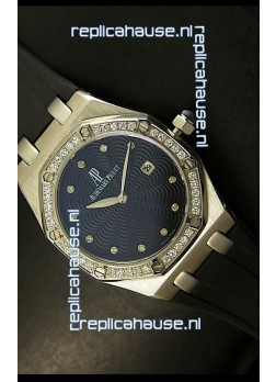 Audemars Piguet Royal Oak Ladies Quartz Replica Watch in Steel Case