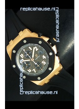 Audemars Piguet Royal Oak Offshore Pink Gold Swiss Watch - MIRROR REPLICA