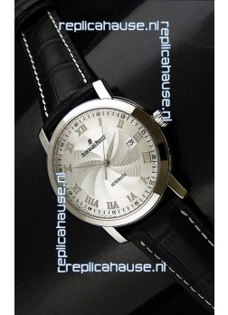 Audemars Piguet Jules Audemars Swiss Watch in Silver Dial