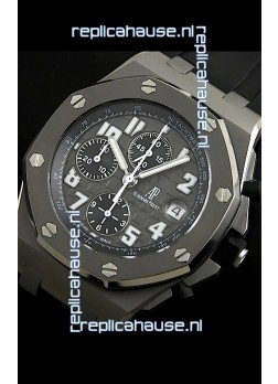 Audemars Piguet Chronopassion Titanium Swiss Watch - Secs hands at 12 O'Clock