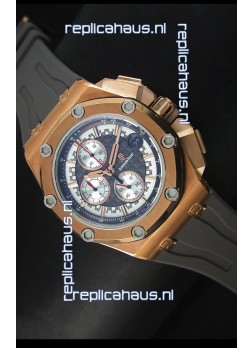 Audemars Piguet Royal Oak Offshore Michael Schumacher Quartz Movement in Rose Gold