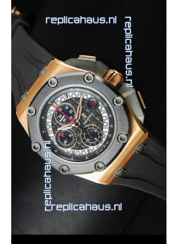 Audemars Piguet Royal Oak Offshore Michael Schumacher Rose Gold - Ultimate 1:1 3126 Movement