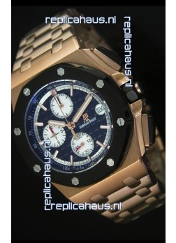 Audemars Piguet Royal Oak Offshore Watch in Pink Gold Case