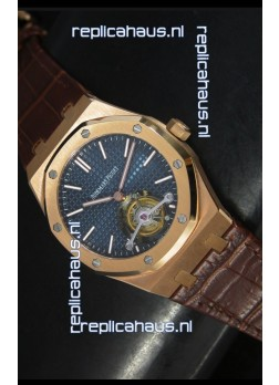 Audemars Piguet Royal Oak Swiss Tourbillon Watch in Pink Gold Case