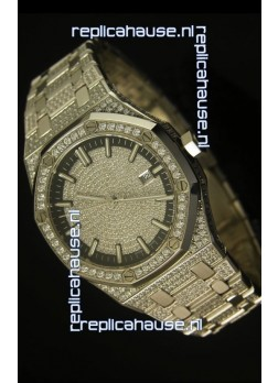 Audemars Piguet Royal Oak Diamonds Swiss Watch