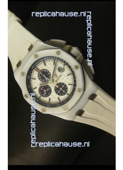 Audemars Piguet Royal Oak Offshore White Ceramic 1:1 Mirror Ultimate Edition
