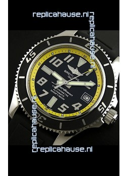 Breitling Superocean Swiss Replica Watch in Black Dial - Ultimate Mirror Replica