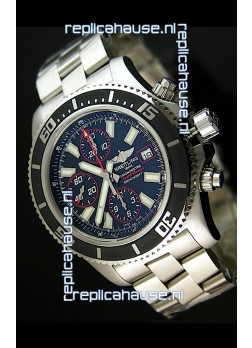 Breitling SuperOcean Abyss Swiss Chronograph Replica Watch - 1:1 Mirror Replica - 44MM Red Markers