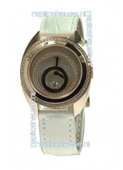 Chopard Happy Spirit Swiss Ladies Replica Gold Watch