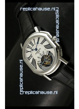 Daniel Roth Daniel Roth Tourbillon Swiss Watch in White Dial