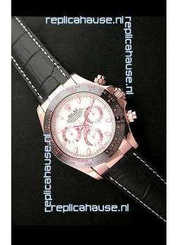 Rolex Oyster Daytona Cosmograph Swiss Replica Rose Gold Watch