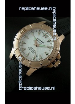 Chopard LUC Pro One Chronometer Swiss Replica Rose Gold Watch