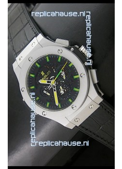 Hublot Big Bang Niemeyer Sandblasted Case Swiss Watch in Steel