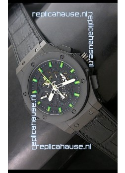 Hublot Big Bang Niemeyer Sandblasted Case Swiss Watch