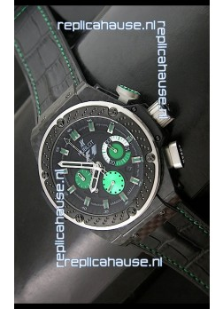 Hublot King Power F1 Interlago Limited Edition Swiss Watch in Green