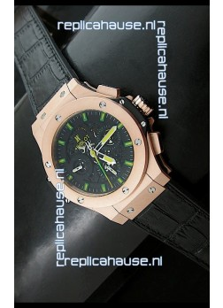 Hublot Big Bang Niemeyer Pink Gold Swiss Watch