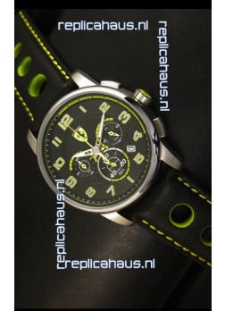 Scuderia Ferrari Heritage Chronograph Watch in Steel Case