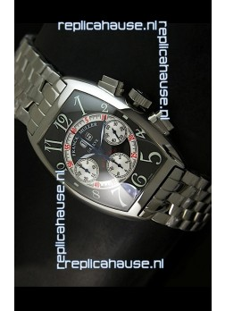 Franck Muller Casablanca Big Date Swiss Replica Watch - 1:1 Mirror Replica Watch