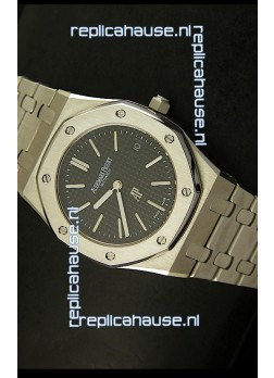Audemars Piguet Royal Oak Ultra Thin Swiss Replica Watch in Black Dial