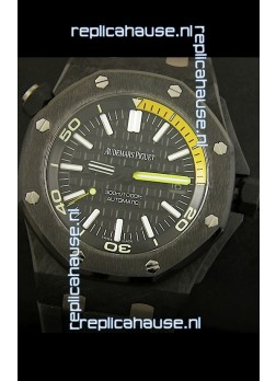 Audemars Piguet Royal Oak Offshore Scuba Swiss Replica Watch - Genuine Carbon Casing