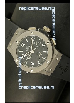 Hublot Big Bang Matte Lightweight Titanium Swiss Replica Watch - 1:1 Mirror Replica
