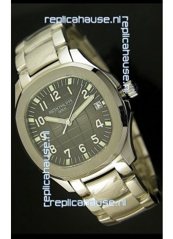 Patek Philippe 5167 Aquanaut Jumbo Swiss Replica Watch - 1:1 Mirror Replica Grey Dial