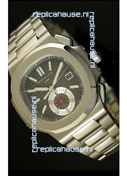 Patek Philippe Nautilus 5980 Chronograph Swiss Replica Watch - 1:1 Mirror Replica