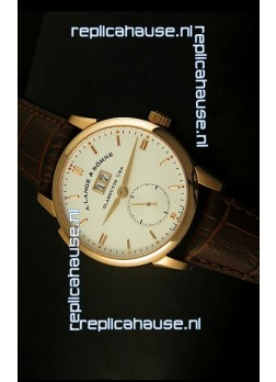 A.Lange & Sohne Reguliert Manual Handwind Watch in Pink Gold Case
