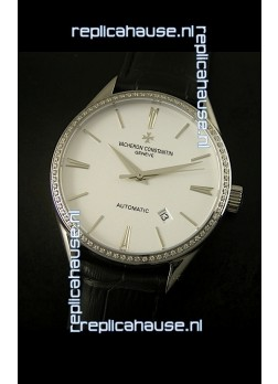 Vacheron Constantin Patrimony Comtemporaine Date Swiss Replica Watch