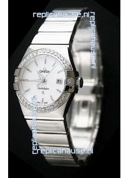 Omega Constellation Ladies Swiss Automatic Watch - 1:1 Mirror Replica