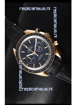 Omega Speedmaster Moon Watch Co-Axial Japanese Replica Watch Rose Gold Case
