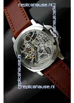 Panerai Luminor Marina Skeleton Dial Swiss Watch