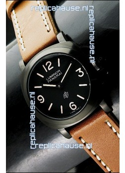 Panerai Luminor PAM 360 Base Model PVD Swiss Watch - 1:1 Mirror Replica